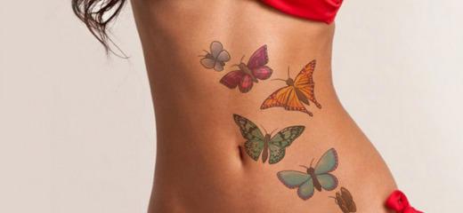 Tatuaggi e smagliature